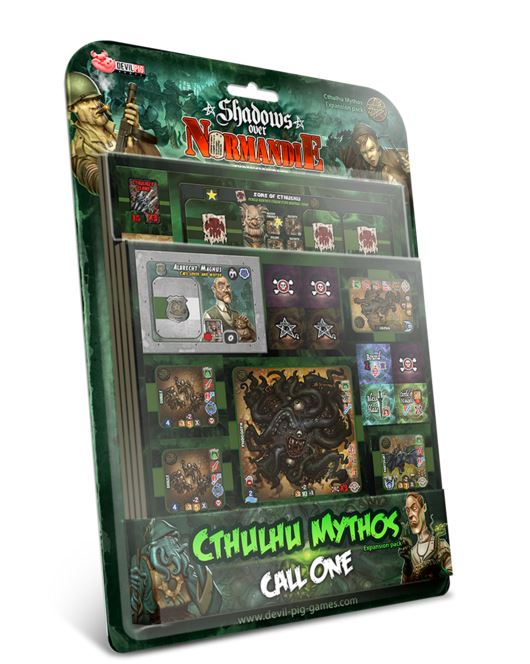 Heroes Of Normandie: Shadows Over Normandie: Cthulhu Mythos: Call One Box Front