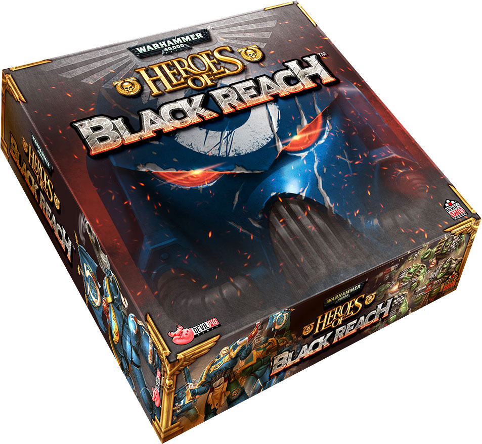 Heroes Of Black Reach Game Box