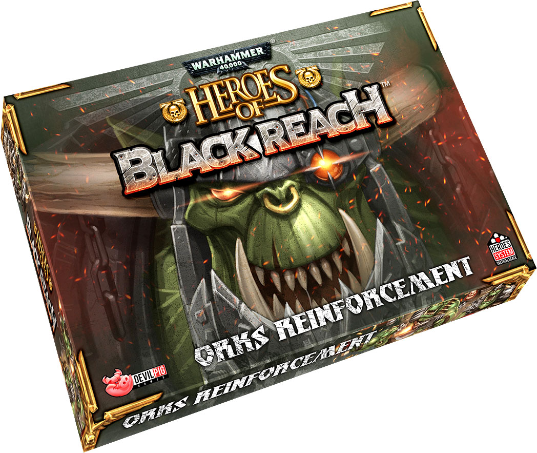 Heroes Of Black Reach: Ork Reinforcements Box Front