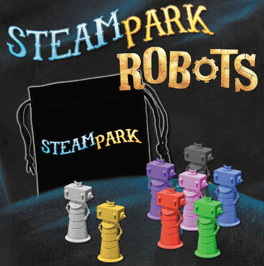 Steam Park: Robots Box Front