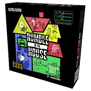 Rumble In The House Box Front