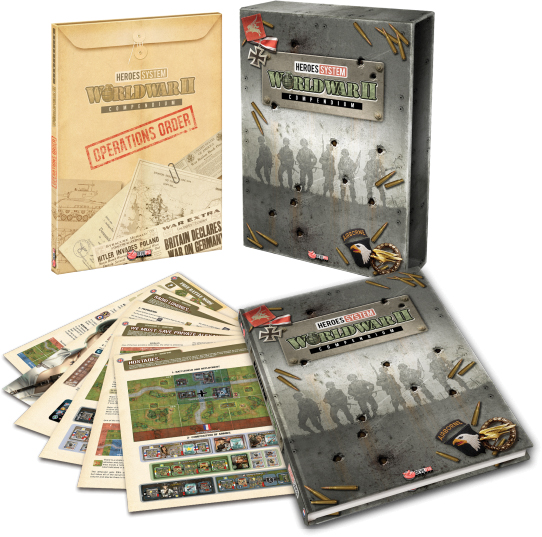 Heroes Of Normandie: Compendium Box Front