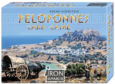 Peloponnes Card Game Box Front