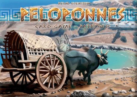 Peloponnes Card Game: Patronus Box Front