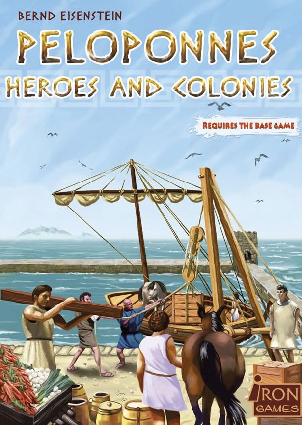 Peloponnes: Heroes & Colonies Box Front