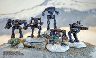 Battleforce Scale Clan Star Pack 2 (5 Mechs) Box Front