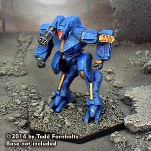 Dark Age Vulpes Mech (tro 3145) Box Front