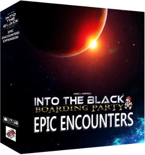 Into The Black: Epic Encounters Expansion Game Box