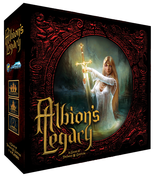 Albion`s Legacy Box Front