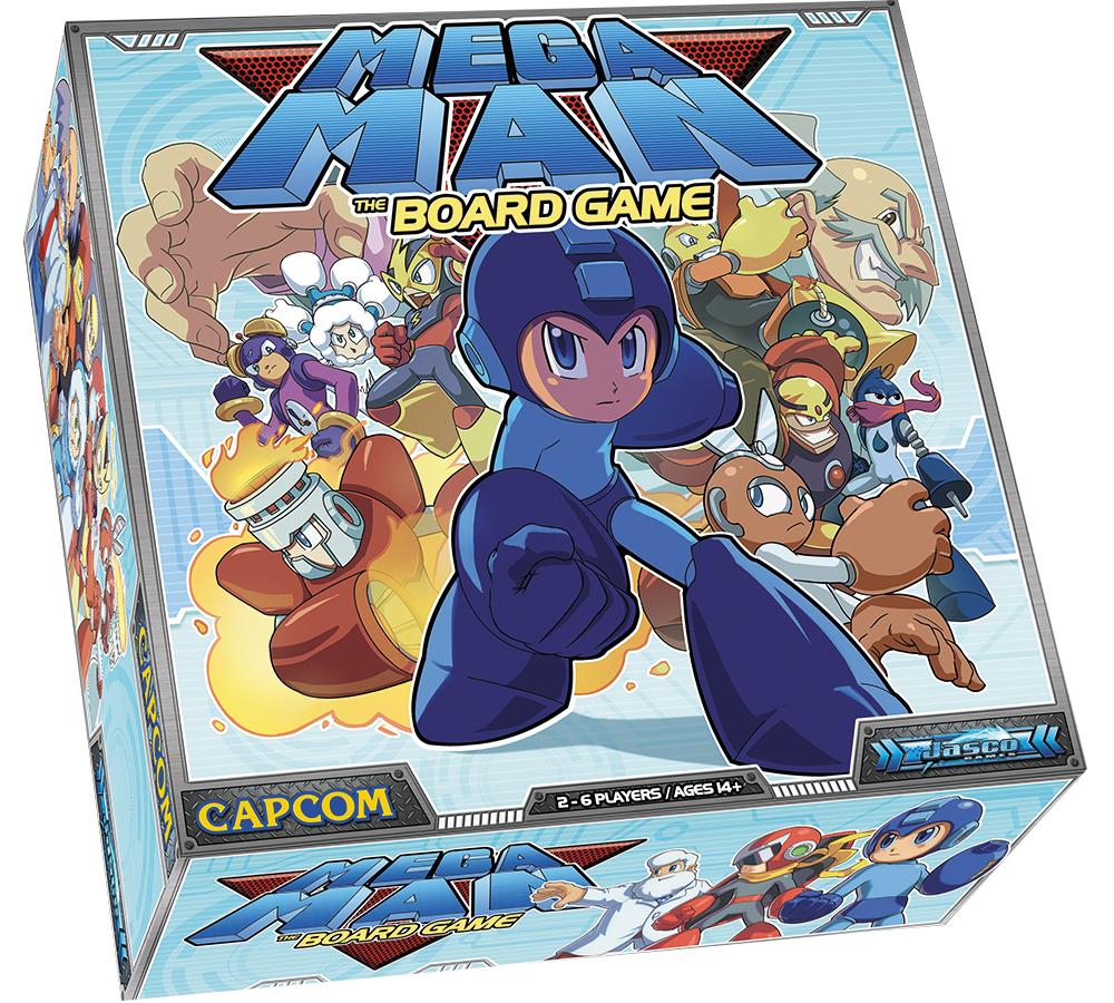 Mega Man: The Board Game Box Front