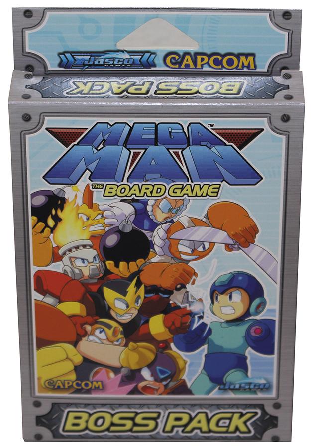 Mega Man: Boss Pack Box Front