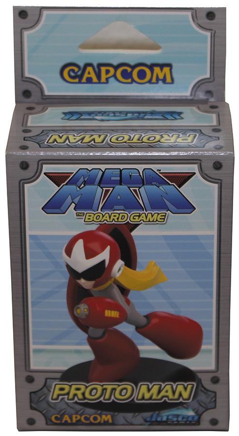 Mega Man: Proto Man Expansion Miniature Box Front