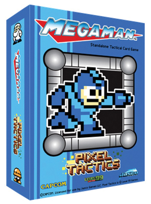 Pixel Tactics: Mega Man Blue Box Box Front