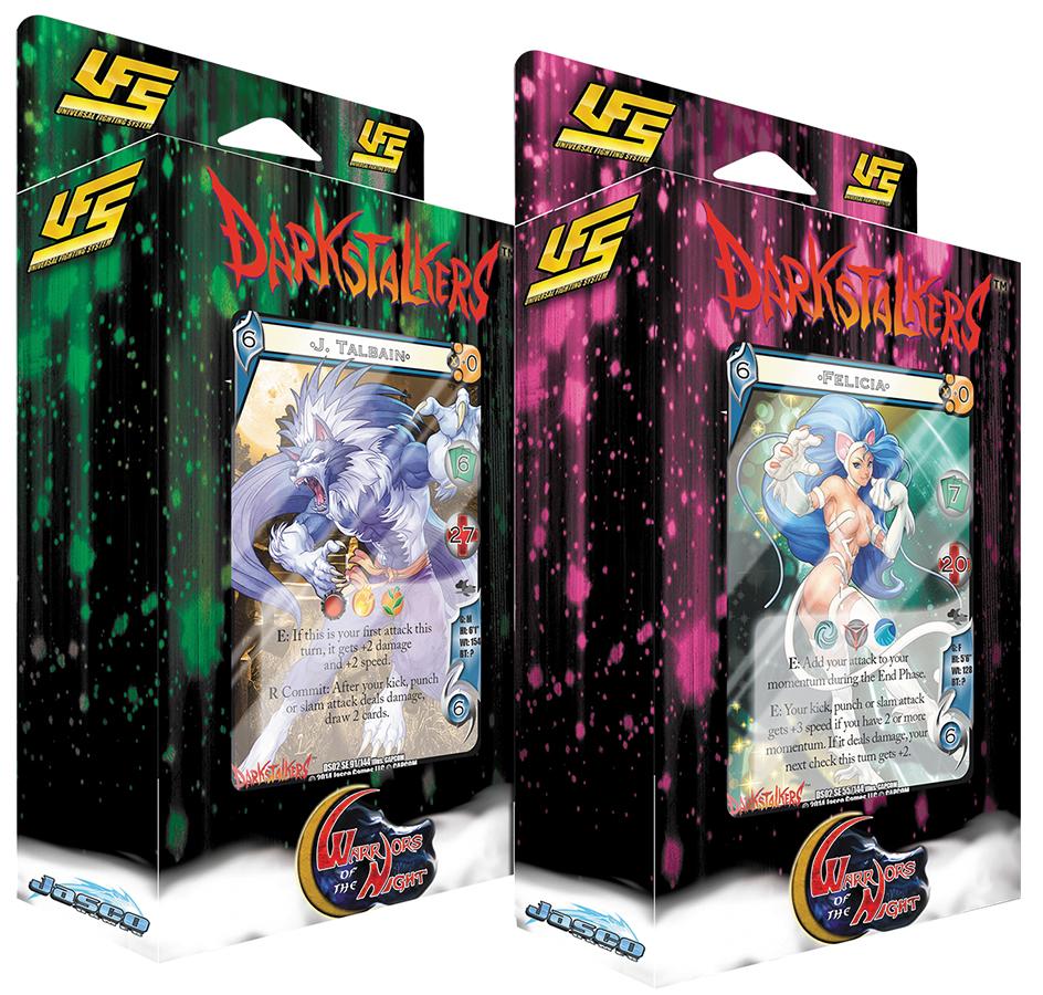 Ufs Set 23 Darkstalkers: Warriors Of The Night Starter Display Box Front