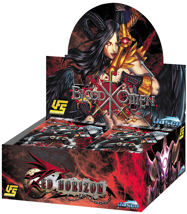 Ufs Red Horizon: Blood Omen Booster Display Box Front