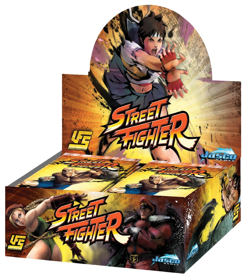 Street Fighter Ccg: Booster Display(24) Box Front