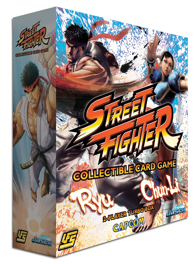 Street Fighter Ccg: Chun Li Vs. Ryu 2-player Starter Box Front