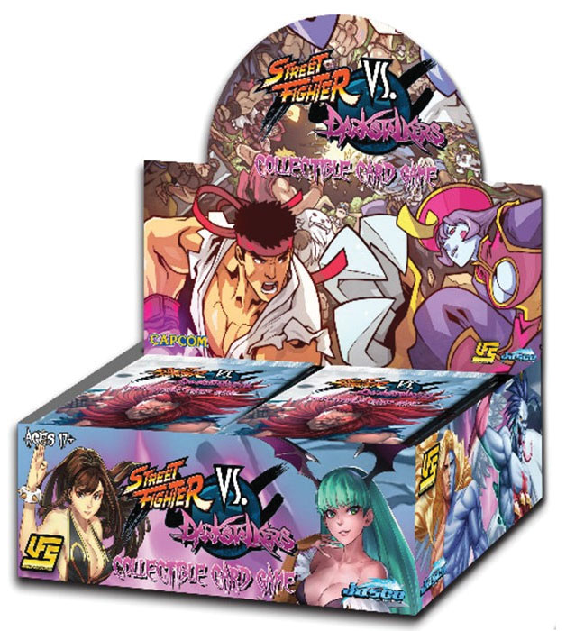 Street Figter Vs. Darkstalkers Ccg Booster Display Game Box