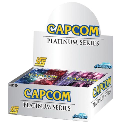 Ufs Capcom Platinum Series Booster Display (24) Box Front