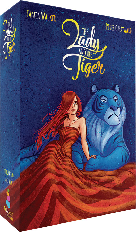 The Lady And The Tiger Box Front