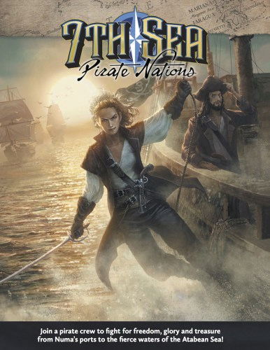 7th Sea Rpg: 2nd Edition - Pirate Nations Hardcover Box Front