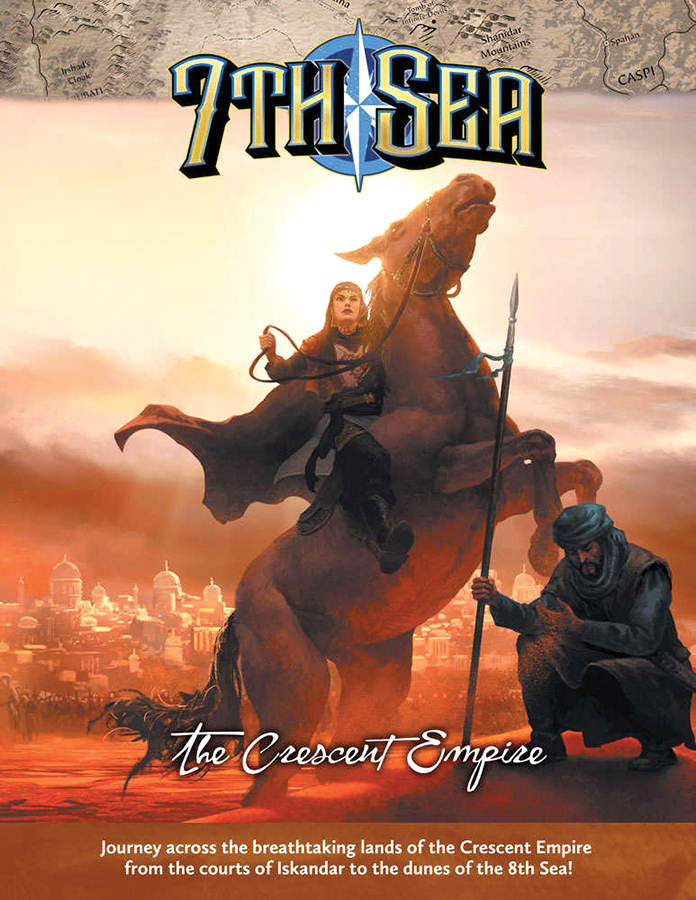 7th Sea Rpg: 2nd Edition - The Crescent Empire Box Front