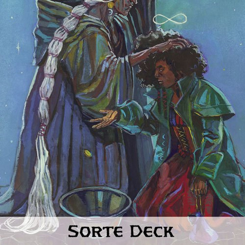 7th Sea Rpg: 2nd Edition - Sorte Deck Box Front