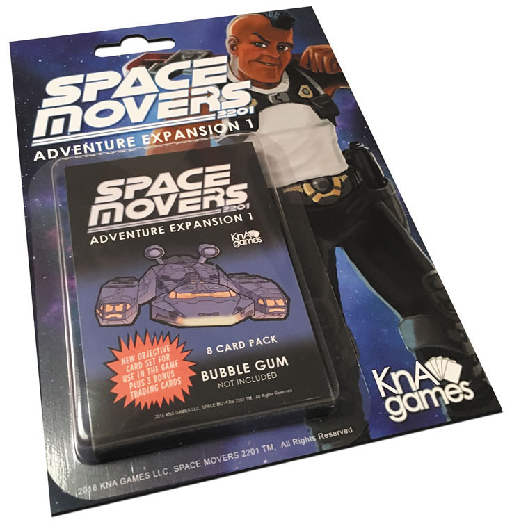 Space Movers: Adventure Expansion I Box Front