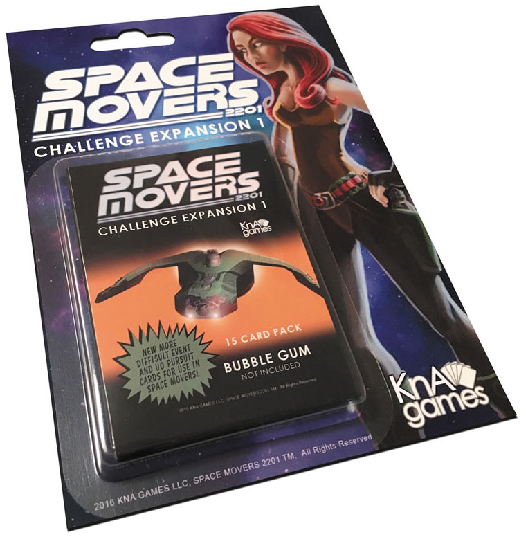Space Movers: Challenge Expansion I Box Front