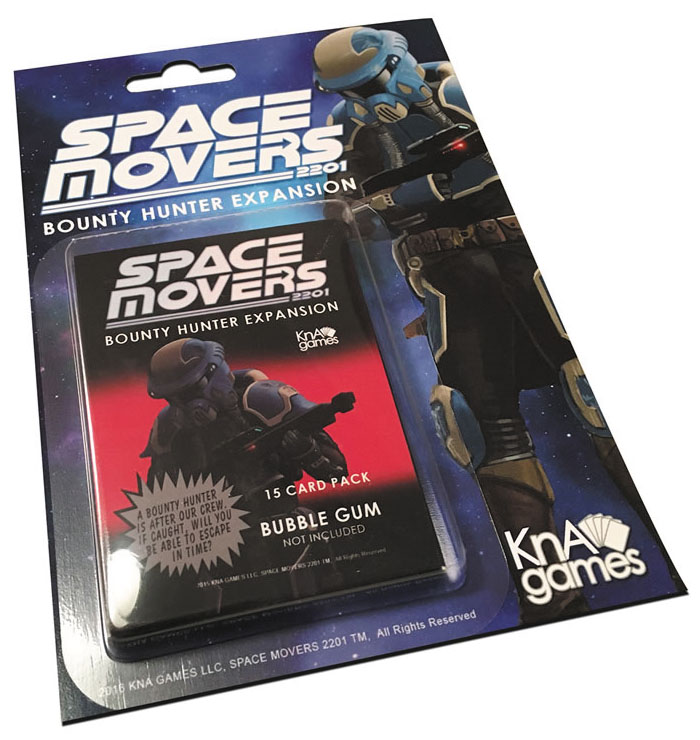 Space Movers: Bounty Hunter Expansion Box Front