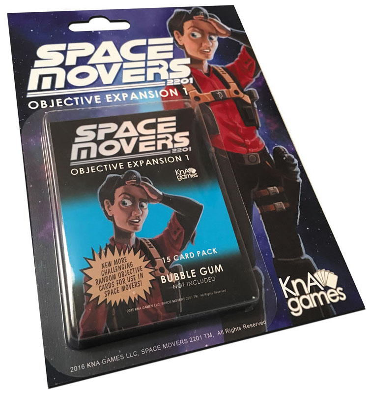 Space Movers: Objective Expansion I Box Front