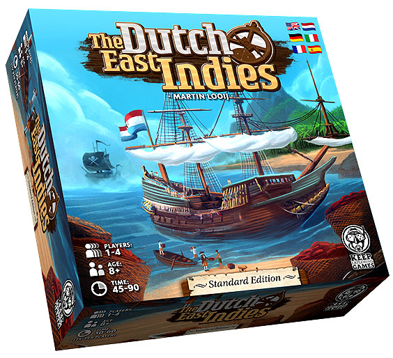 The Dutch East Indies Standard Game Box Front