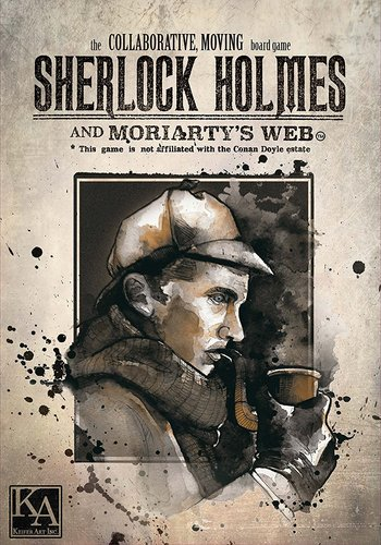 Sherlock Holmes And Moriarty`s Web Game Box