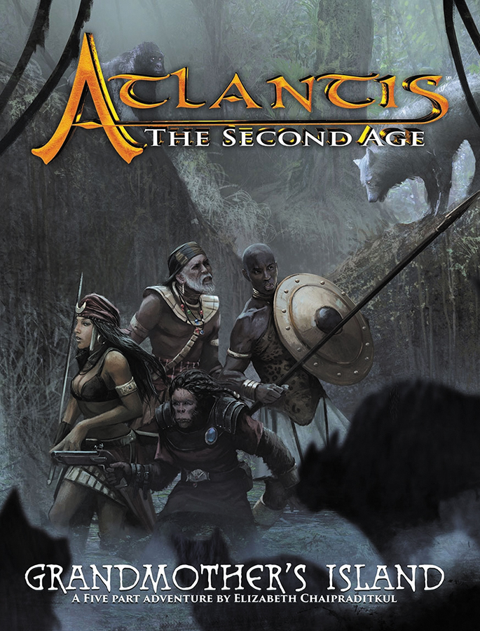 Atlantis - The Second Age Rpg: Grandmothers Island Box Front