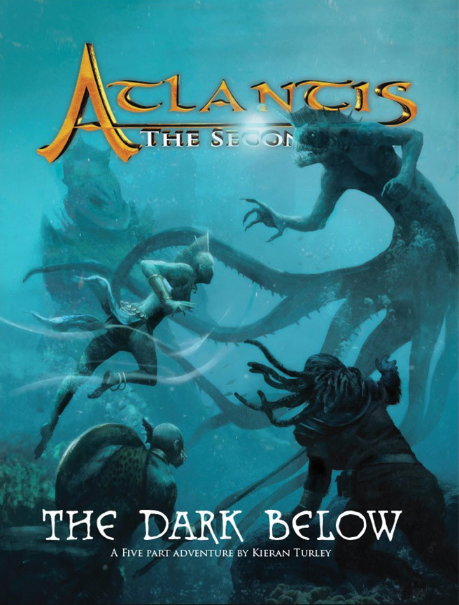 Atlantis - The Second Age Rpg: The Dark Below Box Front