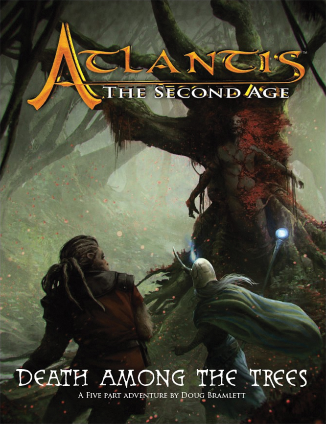 Atlantis - The Second Age Rpg: Death Among The Trees Box Front