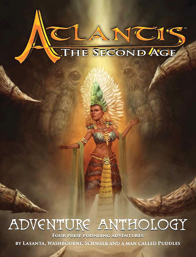 Atlantis - The Second Age Rpg: Adventure Anthology Box Front