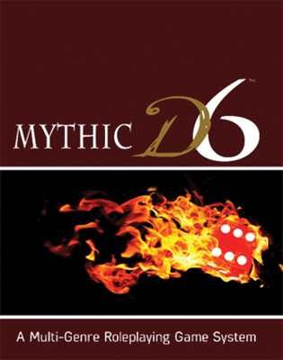 Mythic D6 Core Rulebook Box Front