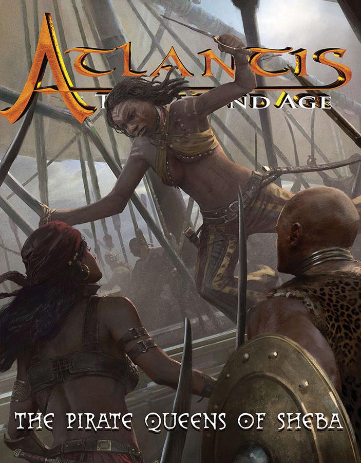 Atlantis Rpg: Pirate Queens Of Sheba Game Box