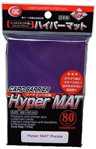 Sleeves: Hyper Matte Purple (80)