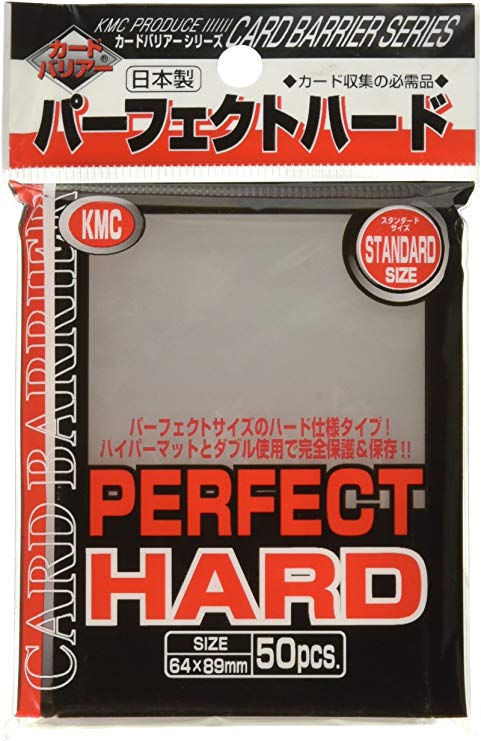 Sleeves: Perfect Size Hard Clear (50) Usa Pack