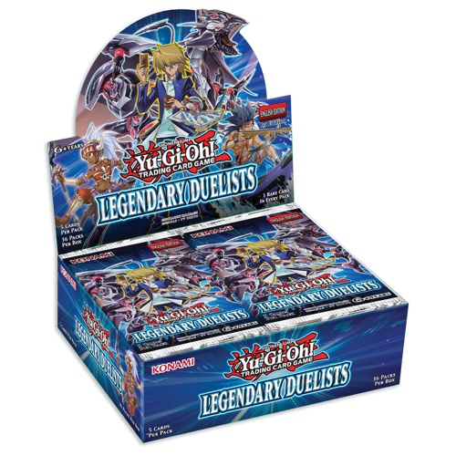 Yu-gi-oh! Tcg: Legendary Duelists Booster Display (36) Box Front