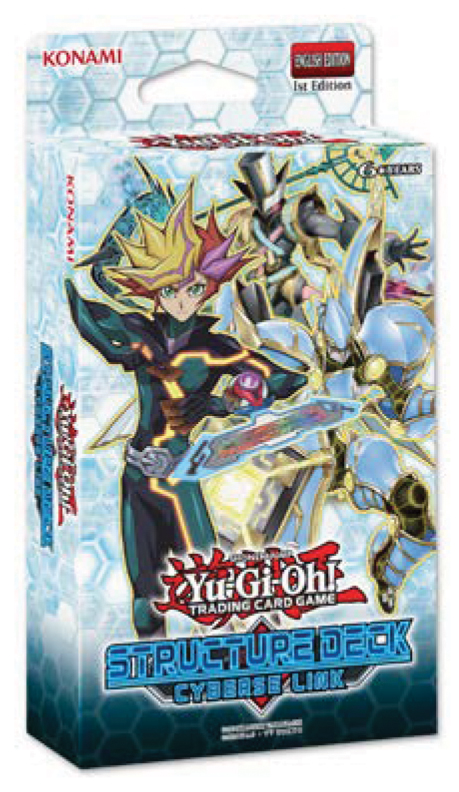 Yu-gi-oh! Tcg: Cyberse Link Structure Deck Display (8) Box Front