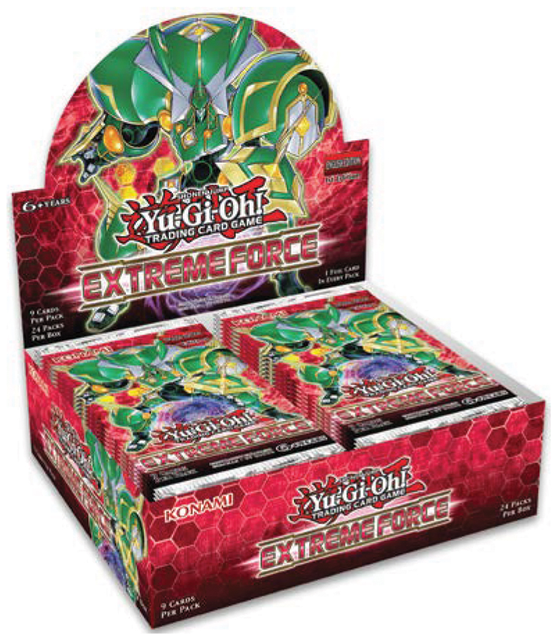 Yu-gi-oh! Tcg: Extreme Force Booster Display (24) Box Front