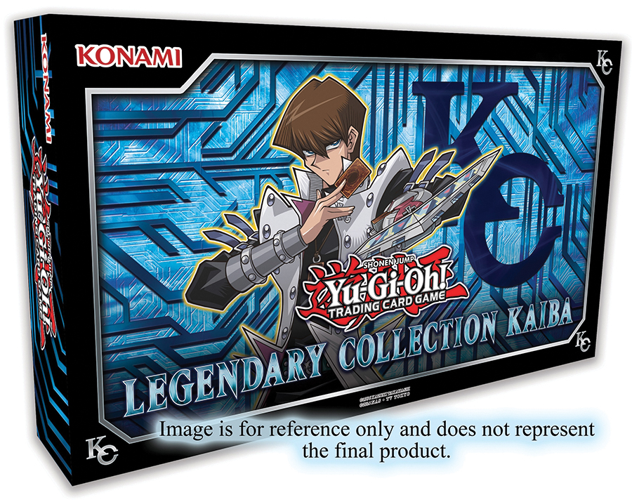 Yu-gi-oh! Tcg: Legendary Collection Kaiba (unlimited Edition) Box Front