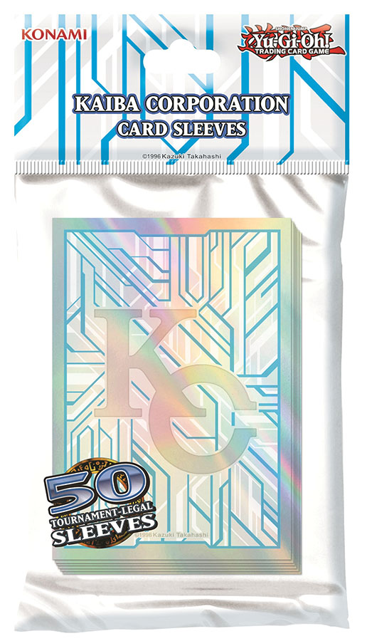 Yu-gi-oh! Tcg: Kaiba Corporation Card Sleeves Pack (50) Box Front