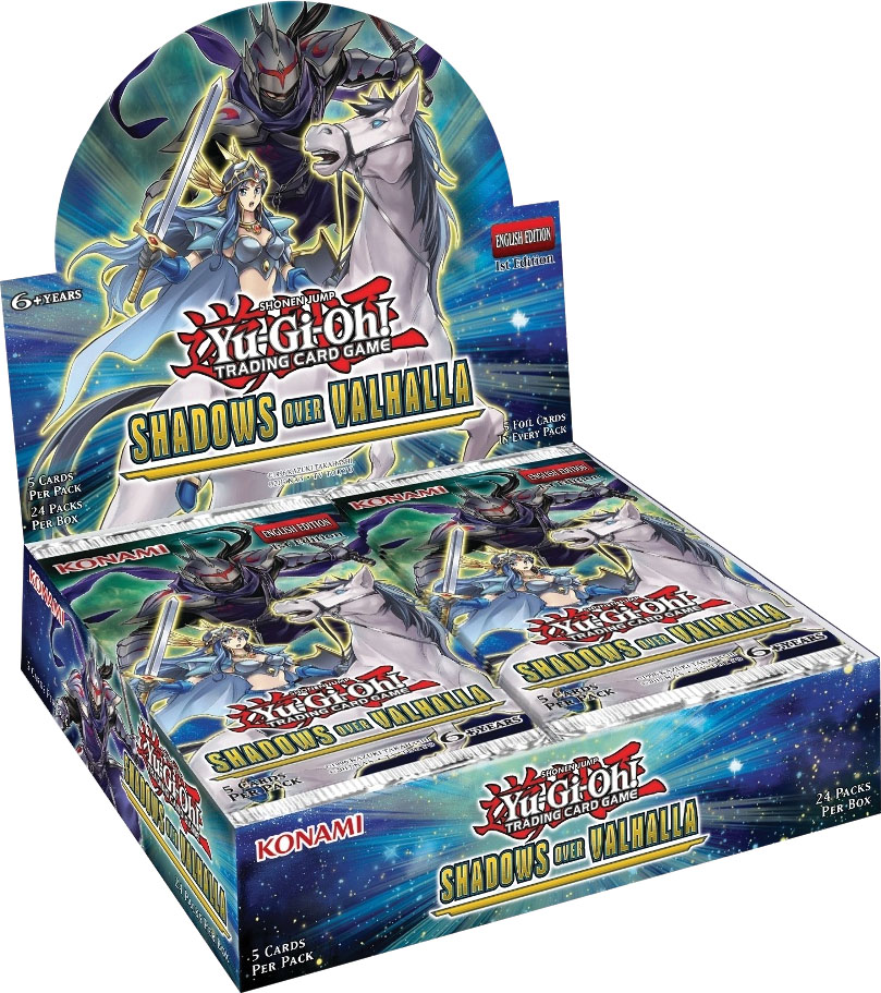 Yu-gi-oh! Tcg: Shadows In Valhalla Booster Display (24) Box Front