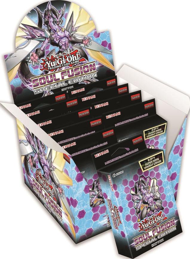 Yu-gi-oh! Tcg: Soul Fusion Special Edition Box Display (10) Game Box