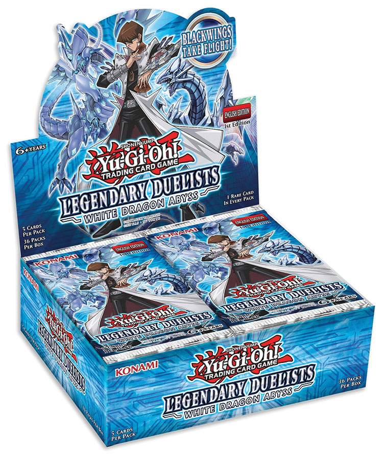 Yu-gi-oh! Tcg: Legendary Duelists - White Dragon Abyss Booster Display (36) Game Box