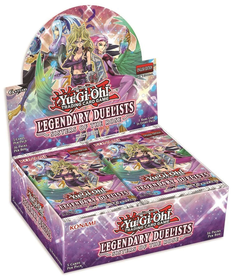 Yu-gi-oh! Tcg: Legendary Duelists - Sisters Of The Rose Booster Display (36) Game Box